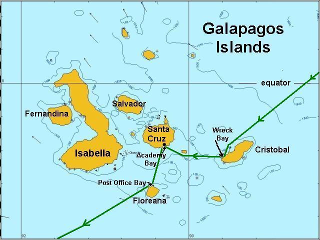Galapagos Map - Galapagos map